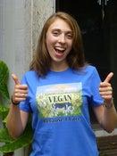 Image of Vegan Because I Care - Royal Blue