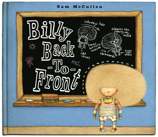 Image of BILLY BACK-TO-FRONT by Sam McCullen (signed hardback picturebook)