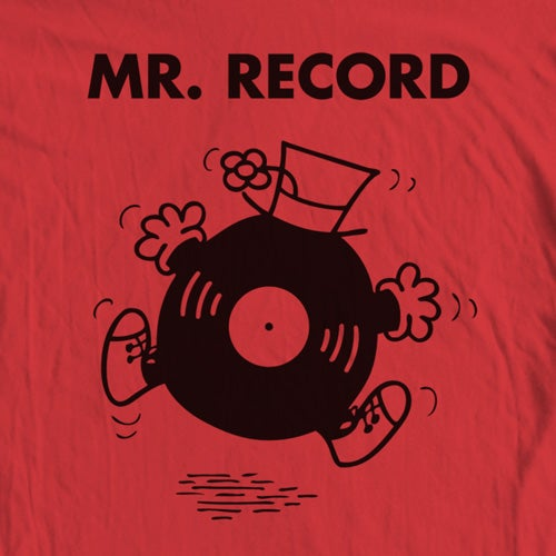 Image of Mr. Record Tee
