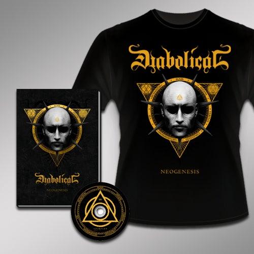 Image of Neogenesis - Mediabook + T-shirt package deal