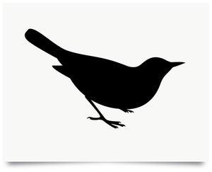 Image of Blackbird print
