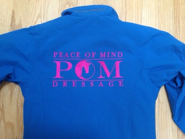 Image of POM Dressage Microfleece-Lined Jacket