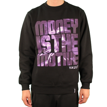 Image of Money is the Motive (Blk/Purple)