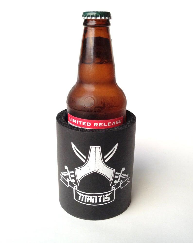 Image of Mantis - Beverage koozie Pirate flag