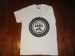 Image of Beach B.U.M.S. White T-shirt