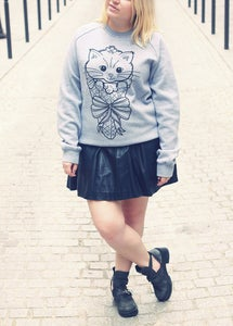Image of Ice-Cream Kitty Sweater