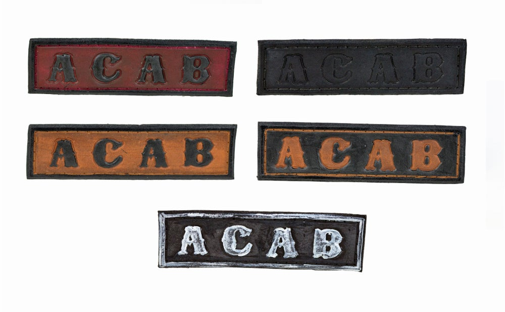 Image of ACAB Leather Patch