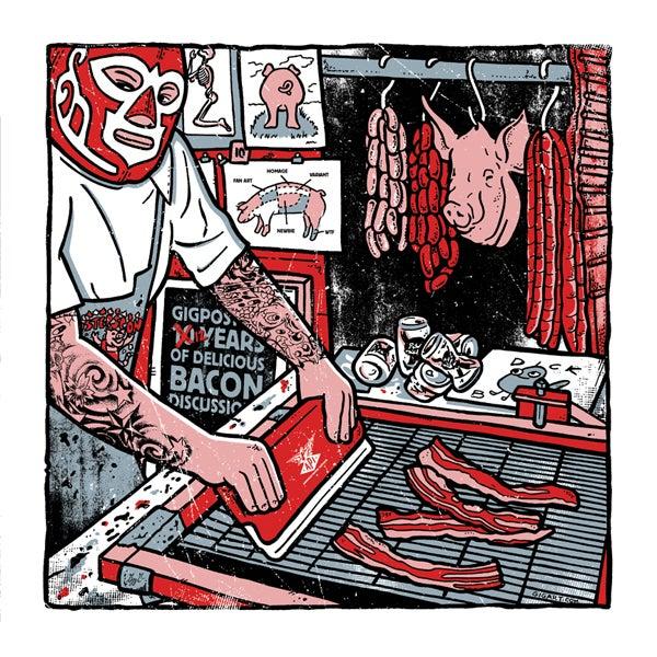 Image of Makin' Bacon - Flatstock 41 Demo Print