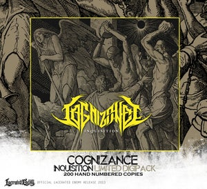 Image of COGNIZANCE - Inquisition - Limited DIGIPACK