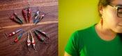 Image of PENDIENTES LOROS/ PARROT EARRINGS