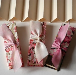 Image of Cherry Blossoms, A set of Accordion Books