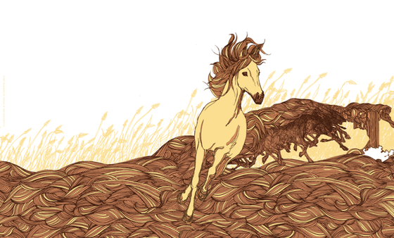 Image of Horses Print