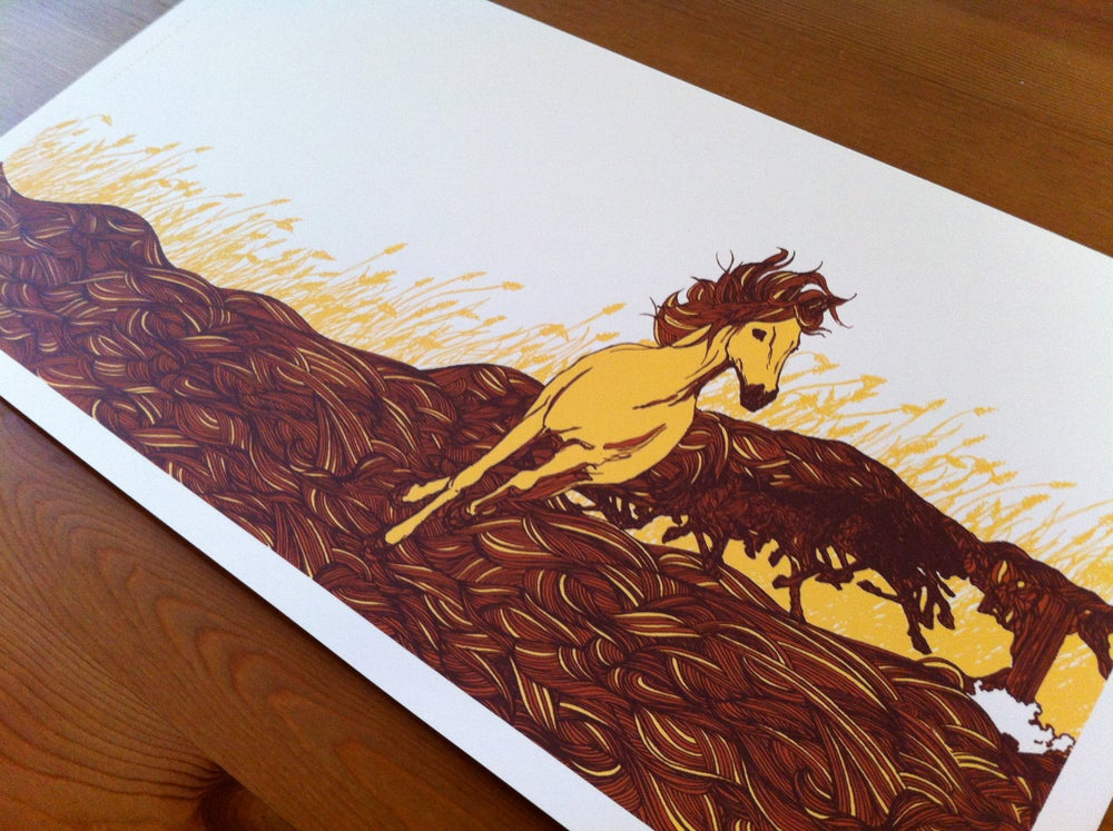 Image of Horses Print