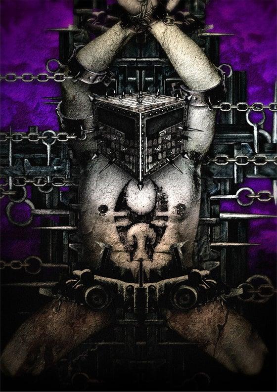 """Image of SOULFLY """"Enslaved"""" Impressão de Arte"""