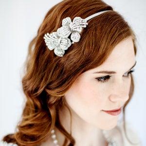 Image of KATE - Crystal Bridal Headband