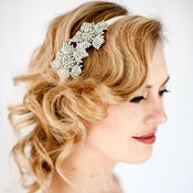 Image of SARAH - Crystal Floral Headband