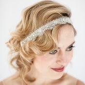 Image of EMMA - Rhinestone Beaded Bridal Headband