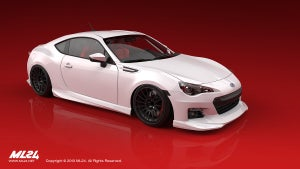 Image of ML24 SUBARU BRZ AERO LIP KIT