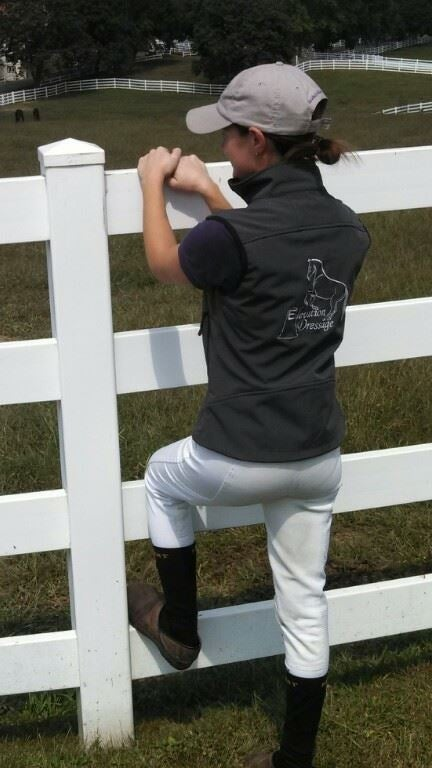 Image of Elevation Dressage Soft-Shell Vest