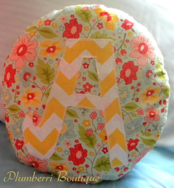 Image of Initial Pillow (Large)