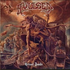 Image of AVULSED Ritual Zombie CD and Limited Digi CD !