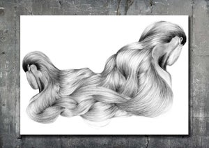 Image of ABSTRACT HAIR