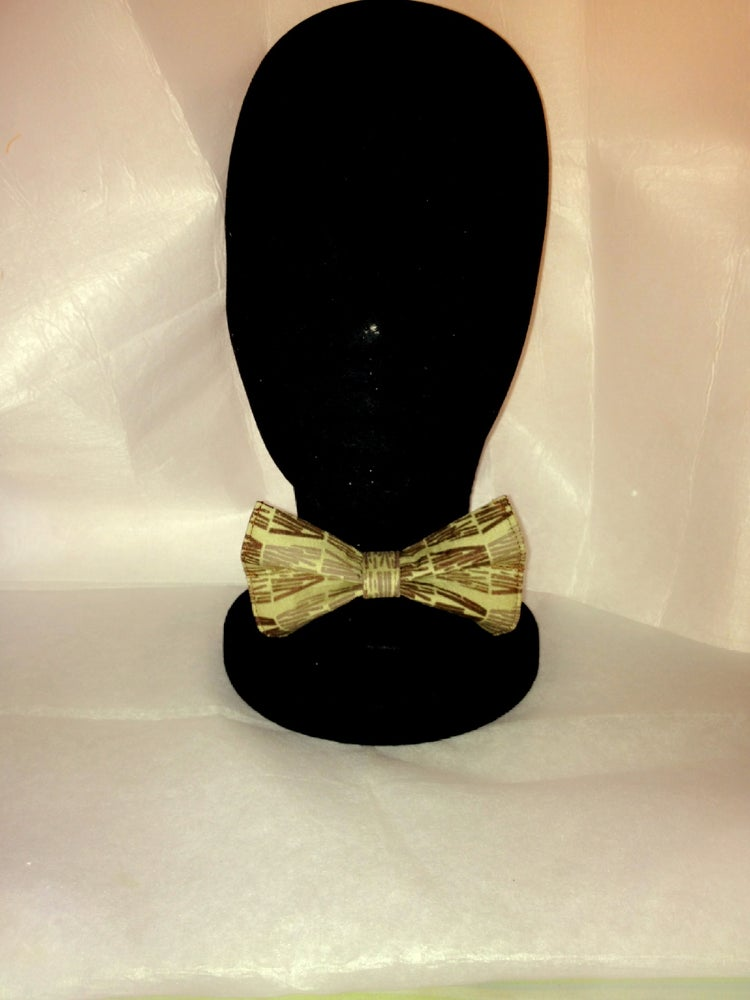 Image of Two Tone Brown Bow Tie