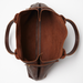 Image of The Cocoon tote in MAHOGANY