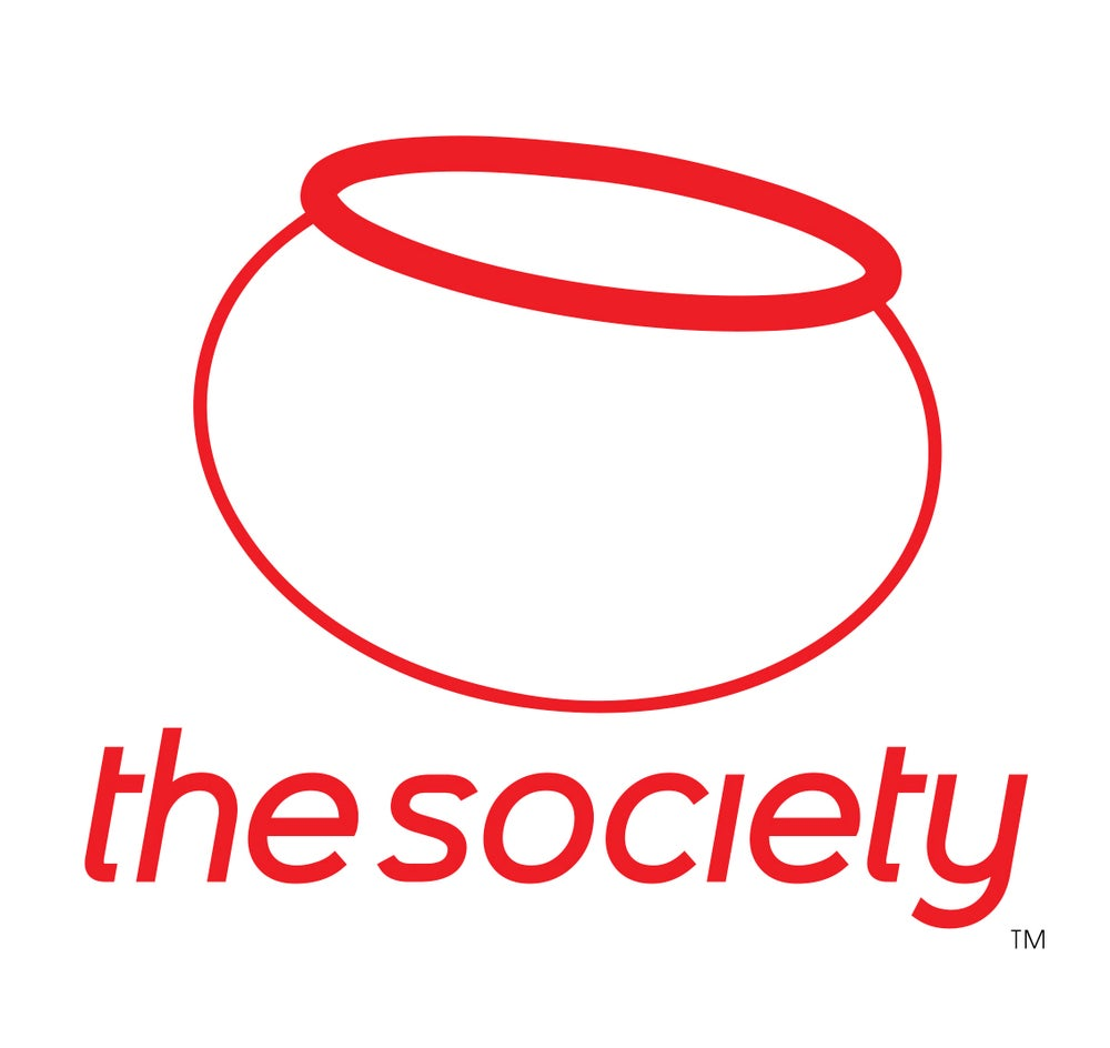 Image of Fishbowl Society Sticker (red)