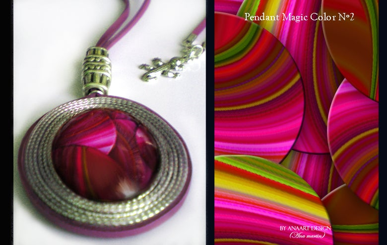 Image of Pendant Magic Color Nº2