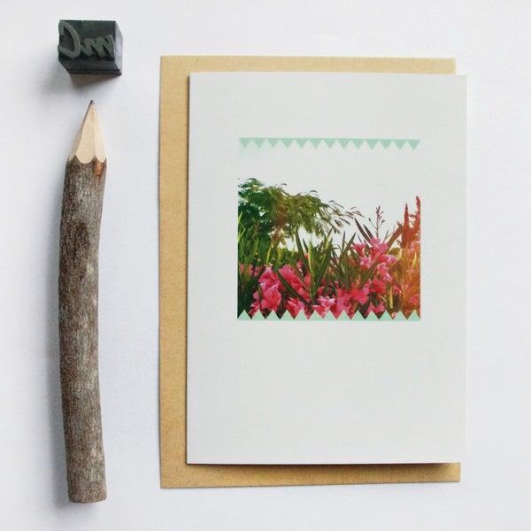 Image of Carte et enveloppe/ Eté indien