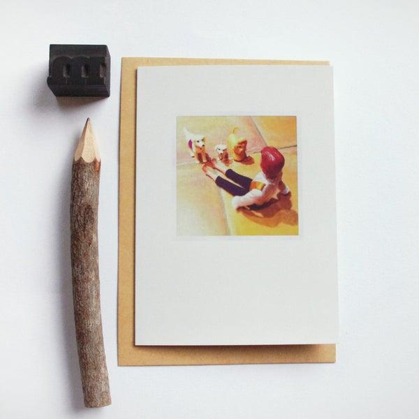 Image of Carte et enveloppe/ Ken and friends