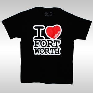 Image of I Love Fort Worth T-Shirts