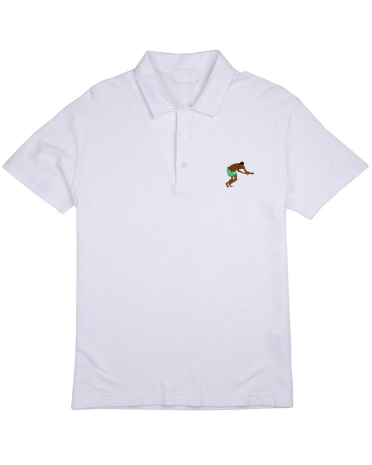 Image of The #AWKWARDDIVEPOLO (White)