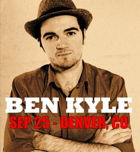 Image of BEN KYLE (of Romantica) SEPTEMBER 25 - Denver, CO