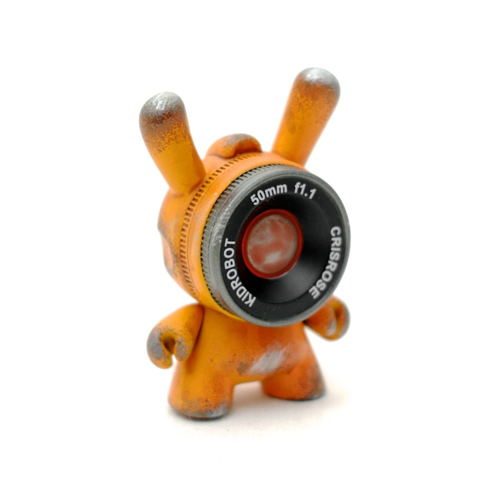 Image of Solar Orange Vinyl Observation Drones / Edition of 5
