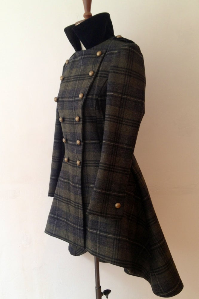 Image of Check Commander Coat