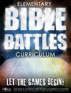 Image of Elementary Bible Battle Curriculum (PDF)