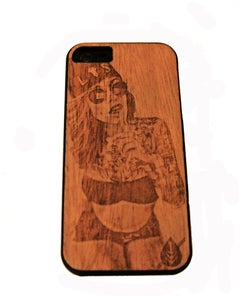 Image of LK iPhone 5 Case Shhh!
