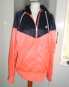 Image of Retro Nike Windrunner Hooded Jacket - LARGE