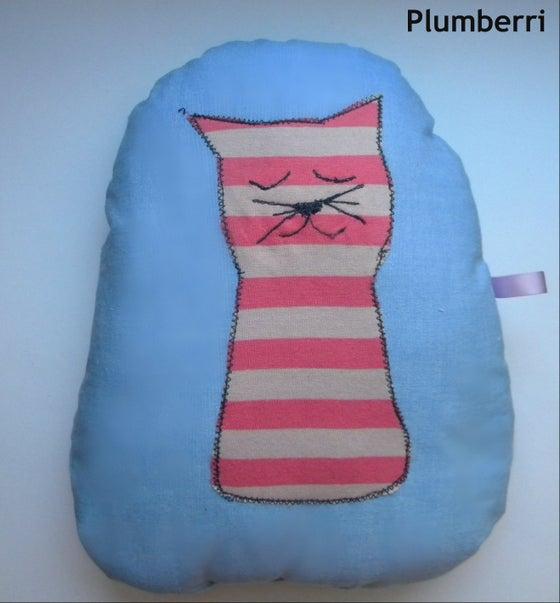 Image of Sleeping Kitty Pillow
