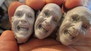 Image of Paul Komoda's Screaming Head!