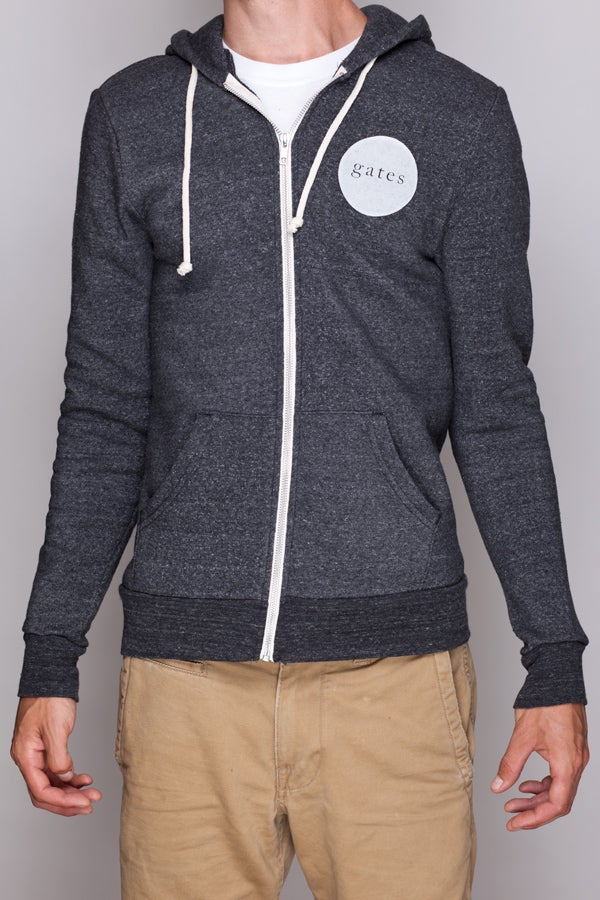 Image of Grey Zip-Up