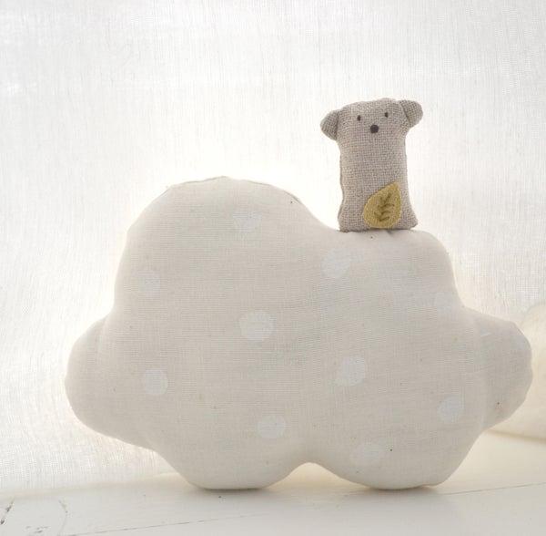 Image of Ernest nuage pois écru ou confettis