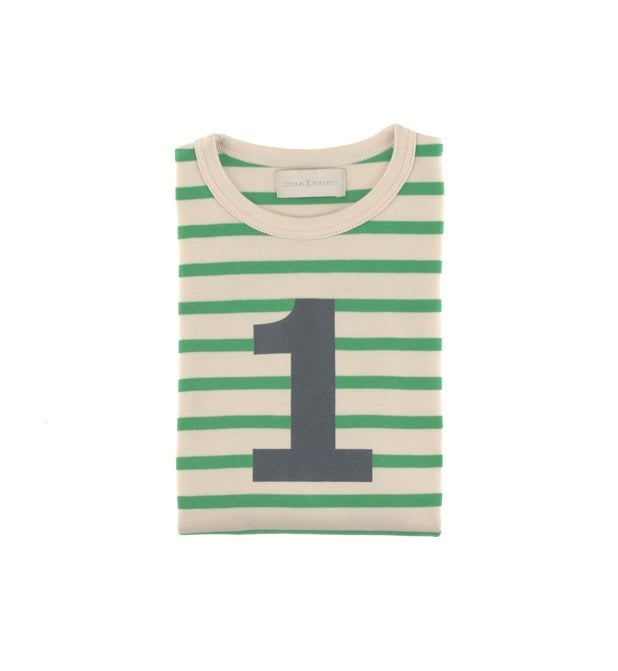 Image of Birthday Tee (No. 1-5), Gooseberry & Cream Breton