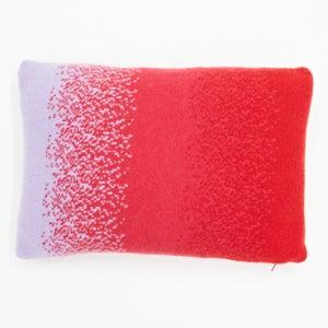 Image of Pink 'Corolla' oblong cushion