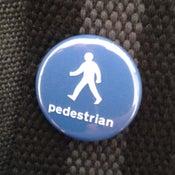 Image of Pedestrian badge