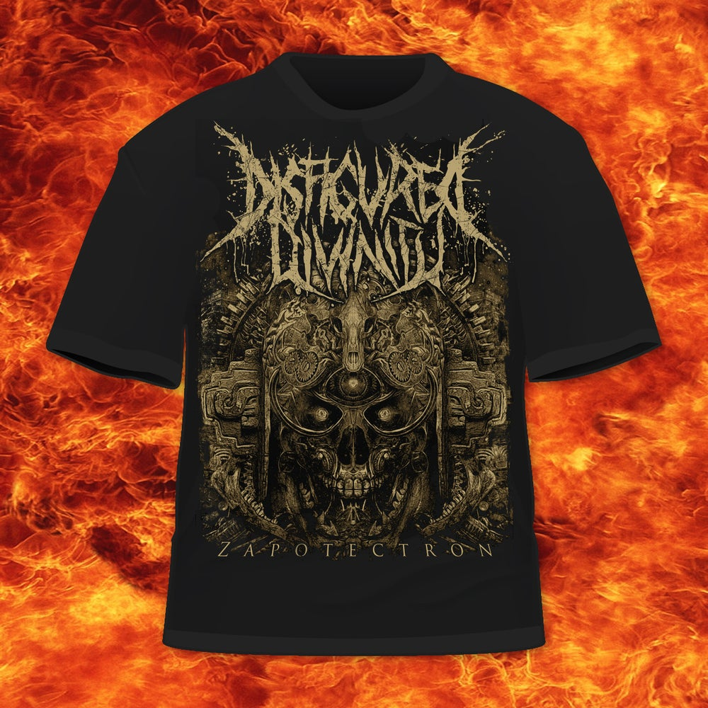 Image of DISFIGURED DIVINITY - ZAPOTECTRON-T-SHIRT