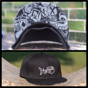Image of 'Grey Bubbles' TNH Snapback