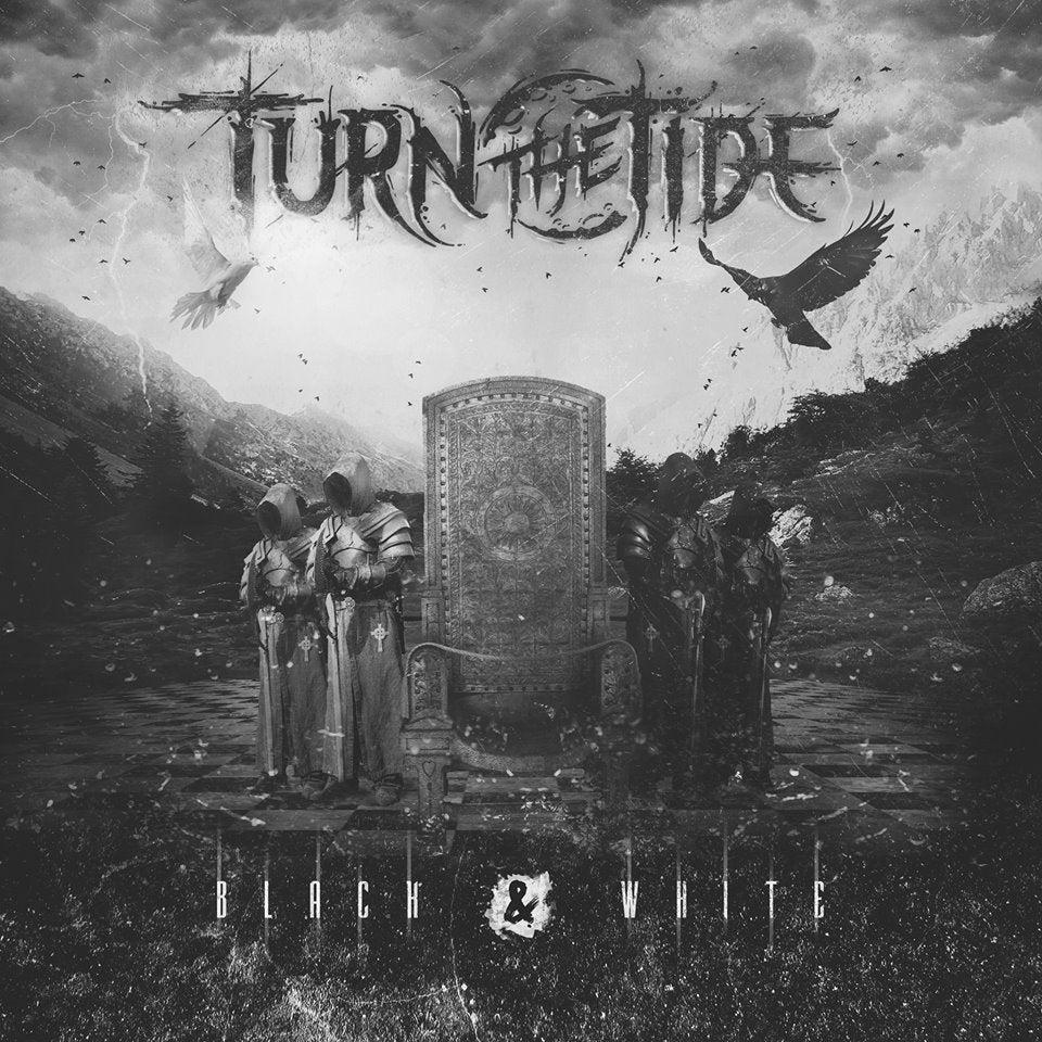 "Image of Turn The Tide ""Black & White"" EP hard copy"